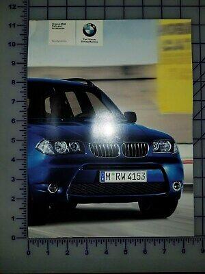 2004 BMW Parts and Accessories Aerodynamics Brochure Folder Poster