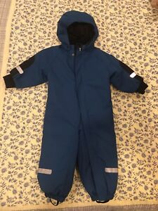 Polarn O' Pyret One Piece Snowsuit. Size 1-1.5 Years.