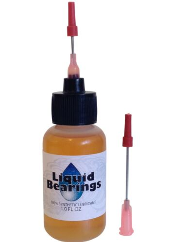 Liquid Bearings, BEST 100%-synthetic oil for Airsoft pistols, gas or electric!!