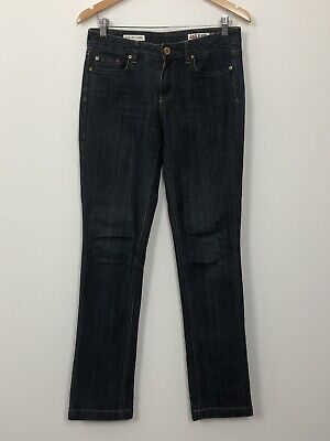 JAG JEANS Womens Blue Mid Rise Regular Fit Straight Stretch Denim Jeans Size 9