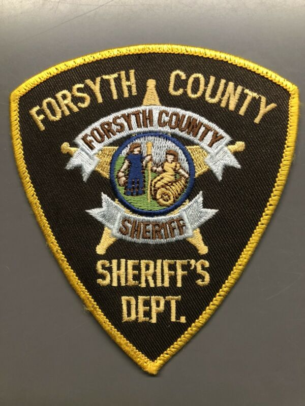 Forsyth County North Carolina Sheriff Patch