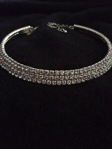 Diamond choker necklace Lyons Woden Valley Preview