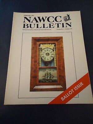 Bulletin Guide - NAWCC Bulletin Guide February 1991 No. 270 Marine Chronometers