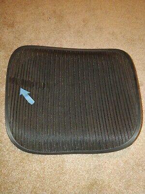 Herman Miller Aeron Chair Seat Mesh Black Pellicle With Blemish Size C Large 95