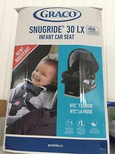 Siege d'auto pour bébé Graco Snugride 30 lx