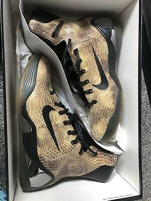 Nike Kobe IX High Ext QS Black Snake Print UK 8 In Original Box