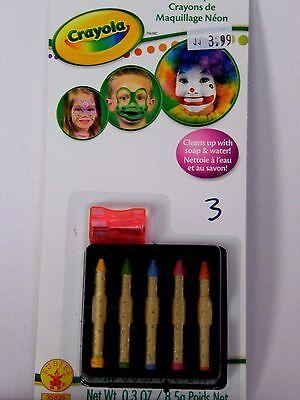 Crayola Face Makeup Sticks Costume Trick or Treat Halloween Costume Child