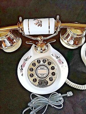 TT system HAC200 Push Button ~ telephone ~ Porcelain French Style