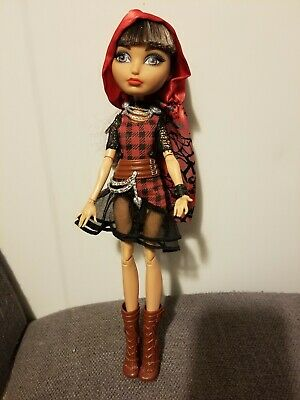 Ever After High Cerise Hood Daughter of Red Riding Hood Doll Original Clothing