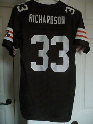 6e29aa5e59b Cleveland Browns Trent Richardson NFL On Field Jersey Youth XL +2