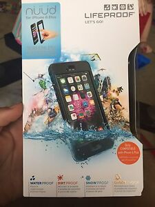 6 plus + Life proof case unopened