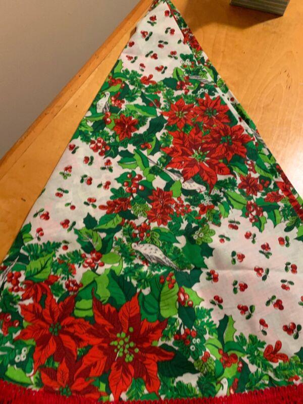 Vintage Christmas Tree Skirt K34