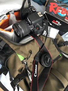 Canon rebel t6i WITH WARRANTY