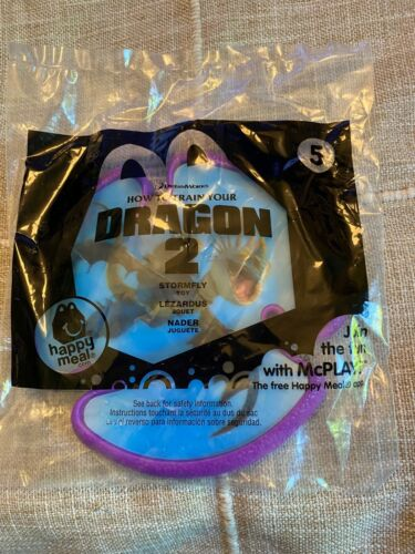 2014 McDonalds Happy Meal Toy How to Train Your Dragon 2 Stormfly Disc #5