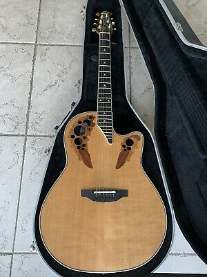 Ovation 1778LX Made In USA With Original Case