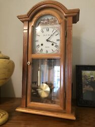 James & Huntington , Strike Chime Wall Clock, Looks To Be Vintage ,