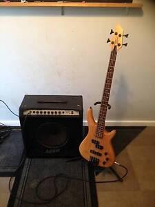 4 String Bass Freedom and 40 watt Ashton Bass Amp Kelmscott Armadale Area Preview