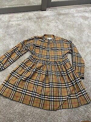 Girls Burberry Dress Age 12