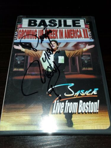 Growing Up Greek In America II Basile Live From Boston DVD Signed, Autographed - $20.00