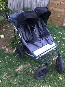 Mountain buggy dual side by side pram Crafers Adelaide Hills Preview