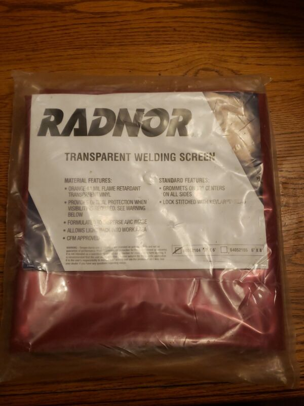 RADNOR TRANSPARENT WELDING SCREEN 6