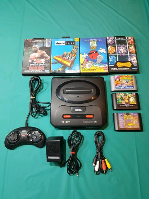 Sega mega drive 2 bundle with games | Other Video Games & Consoles ...
