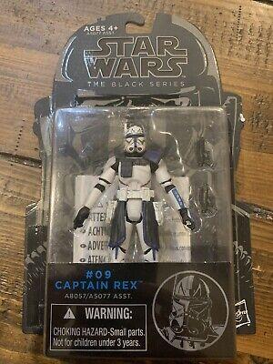 "Hasbro Star Wars The Black Series #09 Captain Rex 3.75"" NEW"