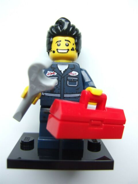 Lego Series 6 Minifigures, Mechanic (Open) - 8827