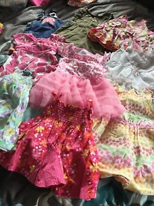 Girls clothing lot size 12 months