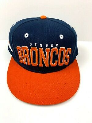 Denver Broncos Hat Cap Official NFL Team Apparel Store Adjustable Snapback