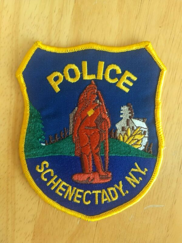 Schenectady NY Police Patch - New