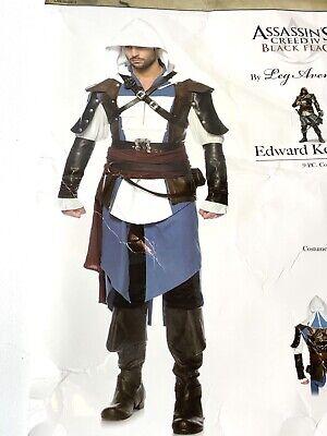 Assassins Creed IV Black Flag Edward Kenway Costume Mens XL Leg Avenue Complete