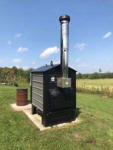 Outdoor Wood Furnace - Complete System