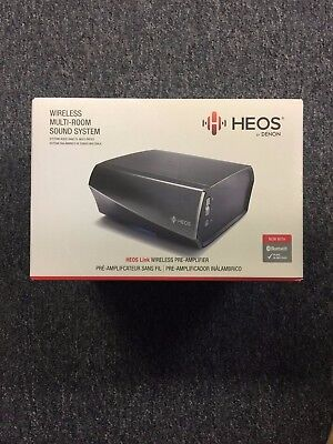 Denon HEOS Link HS2 Wireless Pre-Amplifier New In Box