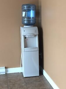 Water cooler with built in mini fridge