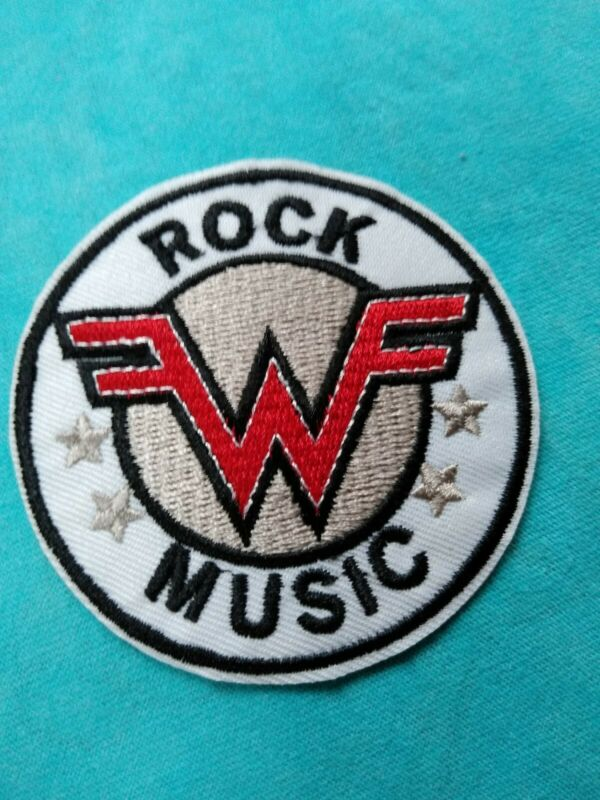 Weezer Rock Music 3 Inch Iron On Patch