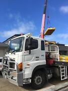 Crane truck for hire Wingfield Port Adelaide Area Preview