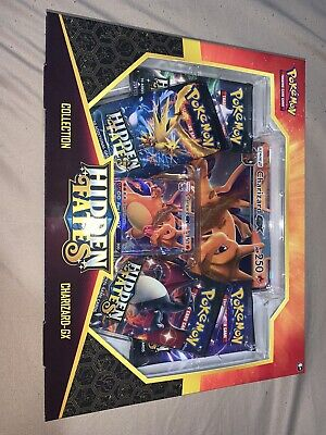 Charizard GX Hidden Fates Box *EXCELLENT CONDITION BRAND NEW*
