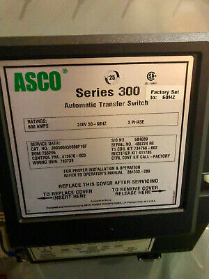 Asco Series 300 Automatic Transfer Switch