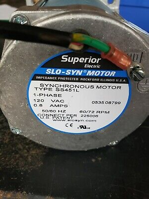 Superior Electric Slo-syn Motor Ss451l