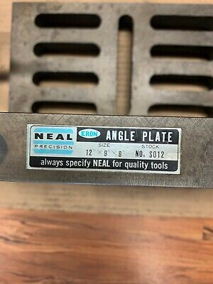 Neal Precision Slotted Angle Plate - Item 1074
