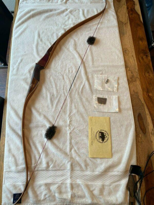 "Bear Archery Kodiak 60"" 45# RH Recurve Bow - Purpleheart Rosewood (AK1445SR)"