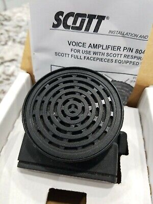 Nos New Old Stock Scott Voice Amplifier Amp 804564-02 Use W Av2000 Av3000 Mask