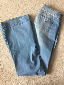 Guess jeans and bootlegger denim skirt