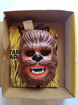 Wookiee Costume (Vintage 70s Star Wars CHEWBACCA Wookiee Play Suit Costume Child M medium)
