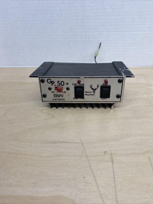 cb radio linear amplifier Gray Elections Deer Hunter