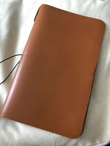 Moleskine Cahier Leather Cover