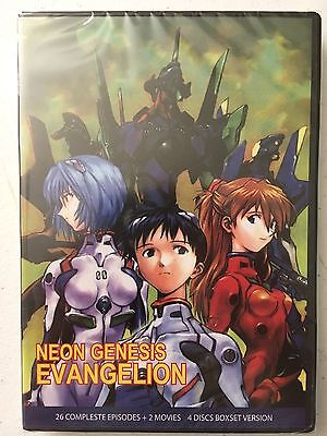 Neon Genesis Evangelion Complete DVD 1-26 Movies End of Evangelion Death Rebirth - 26 Halloween