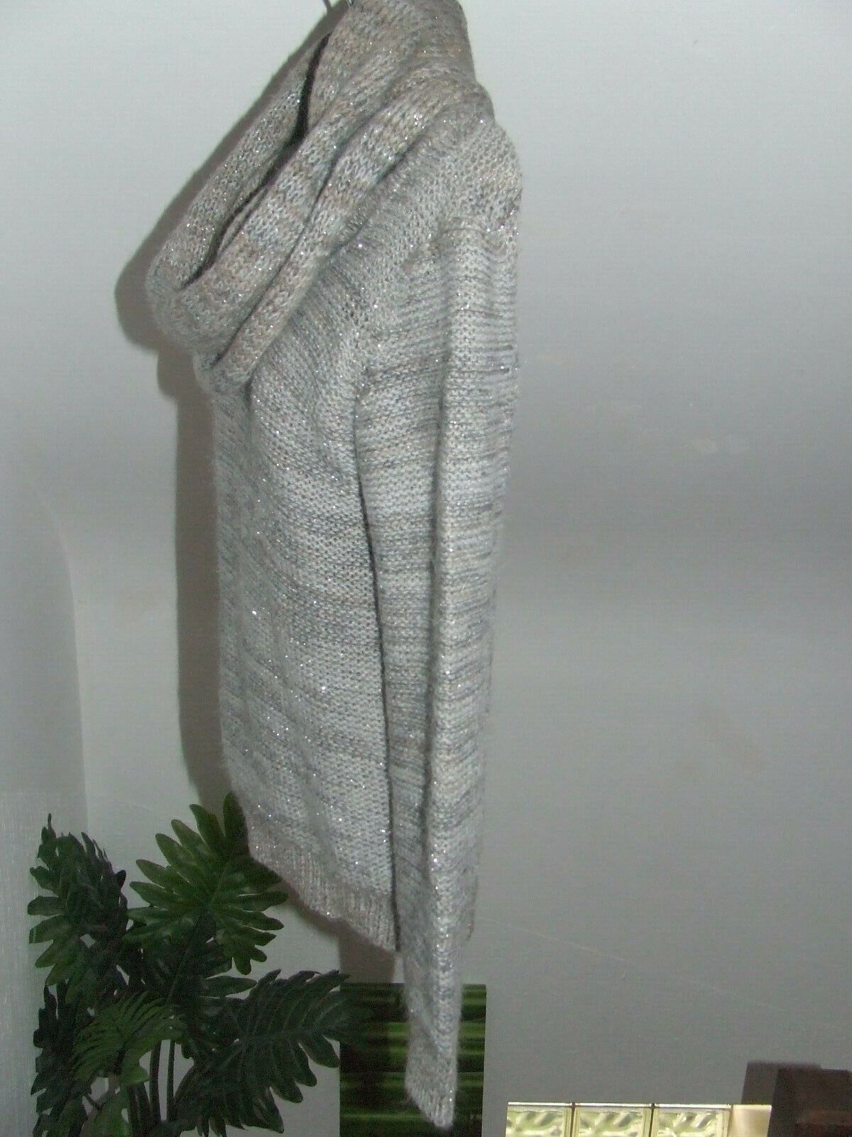 Superbe pull camaieu acrylique + 28 % mohair taille 1 soit  38 / 40 parfait état