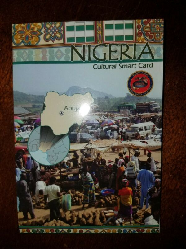 US Army USMC Nigeria Cultural Smart Card